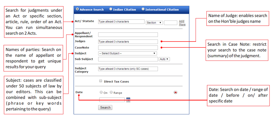 India Law Legal Database- India and Law, Online Legal & Business